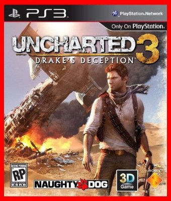 Uncharted 3 ps3 - Drake's Deception