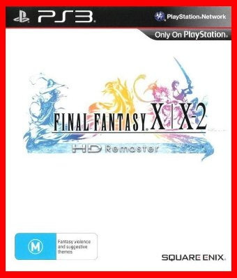 Final Fantasy X X-2 HD Remaster ps3