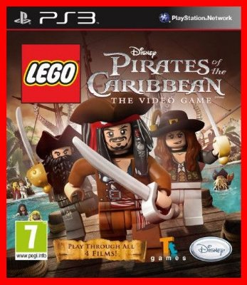 Lego Piratas do Caribe The Videogame ps3