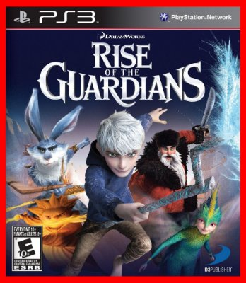 A origem dos guardioes - Rise of the Guardians ps3