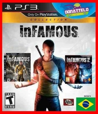 Infamous Collection ps3 - Infamous 1, Infamous 2 e Festival of blood