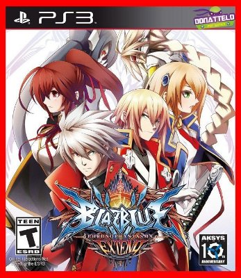 Blazblue Chrono Phantasma Extend ps3