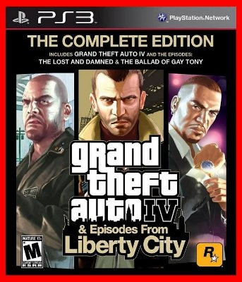 Grand Theft Auto IV & Episodes from Libert City - GTA 4