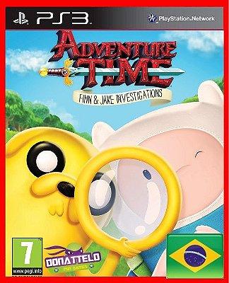 Hora de Aventura - Investigações de Jake e Finn - Adventure Time