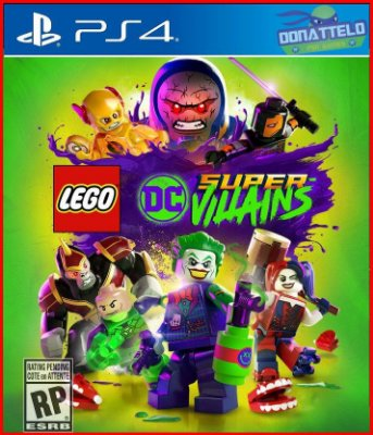 Lego DC Super Vilões PS4