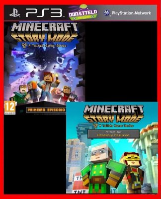 Minecraft Story Mode ps3 - Episodios 1 e 2