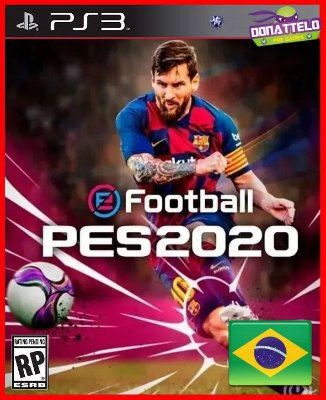 Pro Evolution Soccer 2020 ps3 - PES 2020 PS3  - PES 20 (confira a descrição)