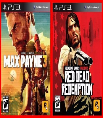 Combo Max Payne e Red Dead Redemption