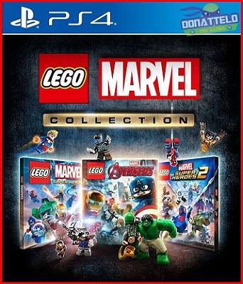 Coleção Lego Marvel Ps4