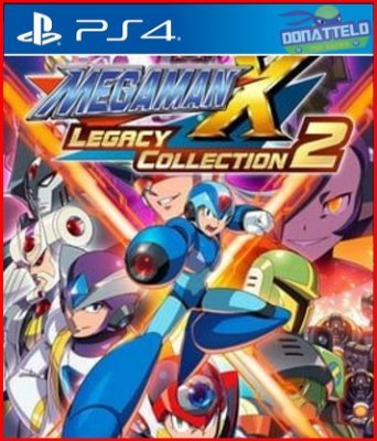 Mega Man X Legacy Collection 2 PS4