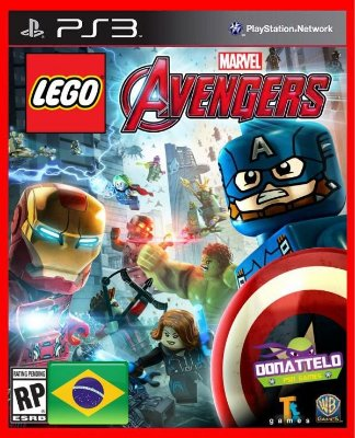 Lego Marvel Avengers Vingadores