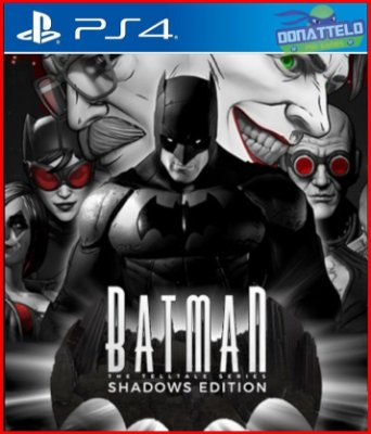 Batman Telltale Series PS4 - Shadows Edition