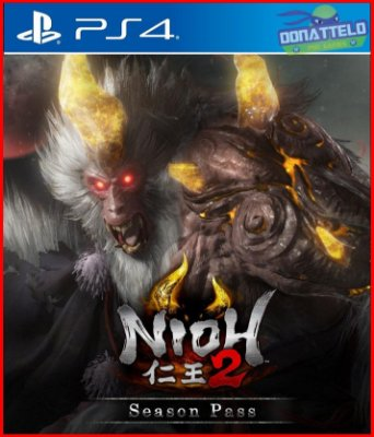 Season Pass Nioh 2 PS4 - Passe de temporada Nioh 2