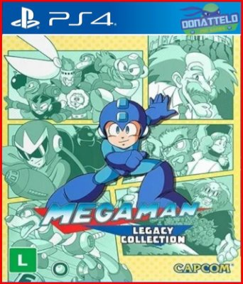 Megaman Legacy Collection 1 PS4