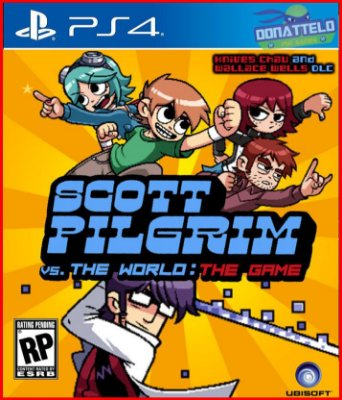 Scott Pilgrim vs The World The Game PS4