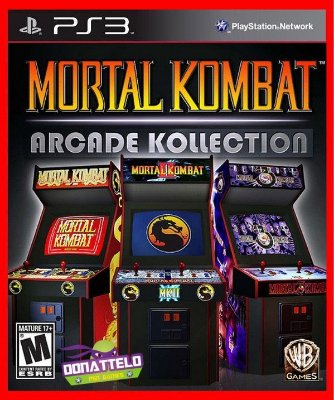 Mortal Kombat Arcade Kollection ps3