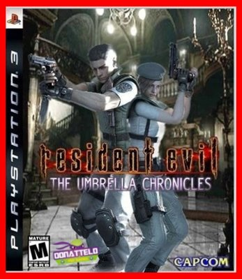 Resident Evil The Umbrella Chronicles ps3