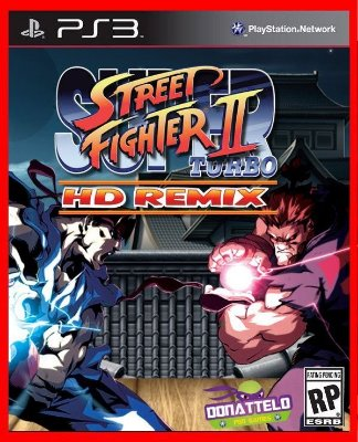 Super Street Fighter 2 Turbo HD Remix ps3