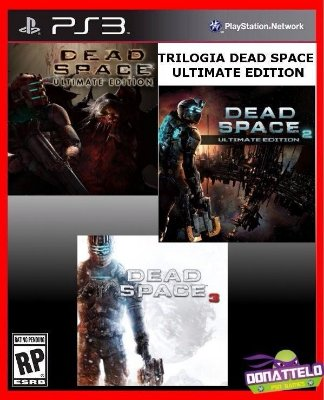 Trilogia Dead Space Ultimate Edition - Dead Space 1, 2 e 3 PS3 PSN