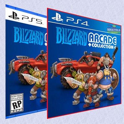 Coleção Arcade da Blizzard PS4/PS5