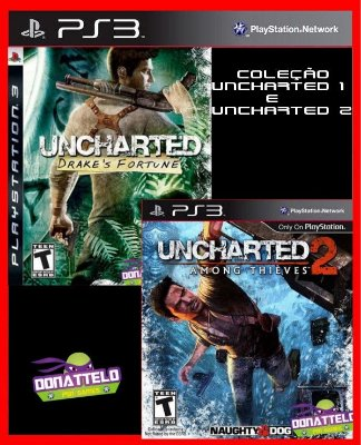 Uncharted Greatest Hits Dual Pack - Uncharted 1 e Uncharted 2 ps3