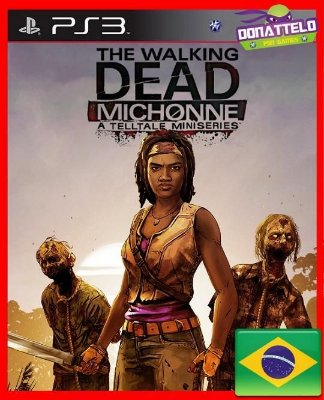 The Walking Dead Michonne ps3 três episódios - A Telltale Miniseries