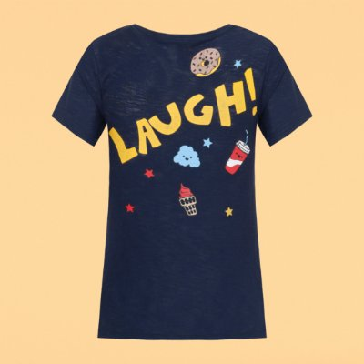 T-shirt Laugh
