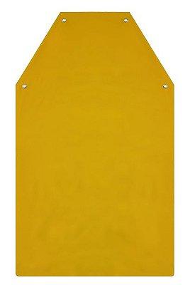 AVENTAL DE PVC FORRADO NA COR AMARELO