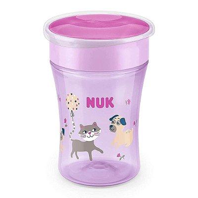 Copo de Transição Magic Cup 230ml - 8+ Meses - Pets - Nuk