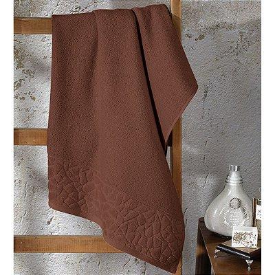 Toalha de Banho Jacquard Confort - Marrom 11587 - Döhler
