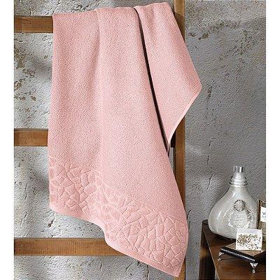 Toalha de Banho Jacquard Confort - Rosa 10501 - Döhler