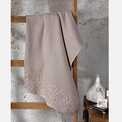 Toalha de Banho Jacquard Confort - Caqui 11433 - Döhler