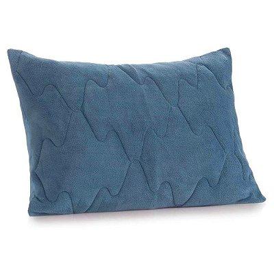 Porta Travesseiro New Confort - Azul Dimensão  - Altenburg