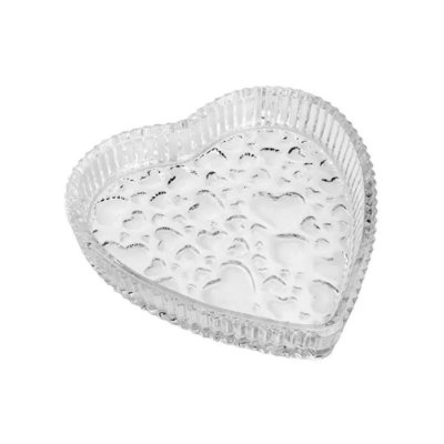 Petisqueira de Cristal Cute Heart - Lyor
