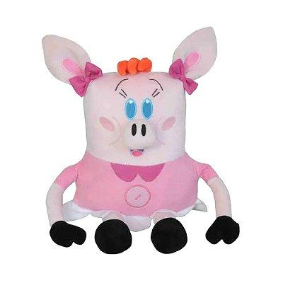 Pelúcia Porquinha Geniosa Lila - O Diário de Mika - Lovely Toys