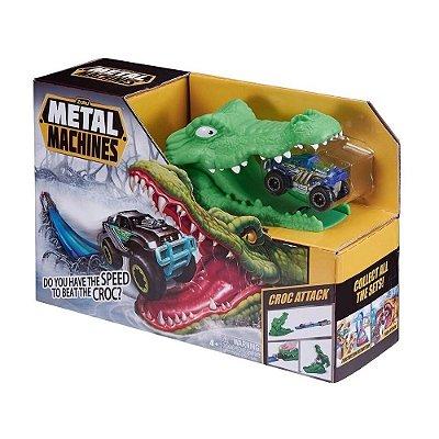 Pista Metal Machines Ataque de Crocodilo - Candide