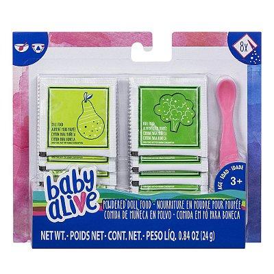 Comida em Pó Para Boneca - Baby Alive - Hasbro