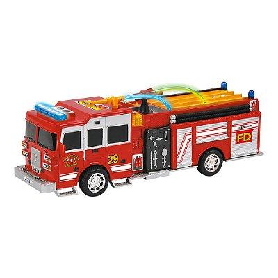 Carro Resgaste Bate e Volta - Bombeiros - DM Toys