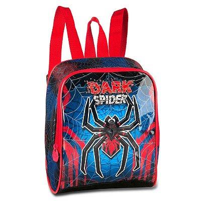Lancheira Spider Dark Vermelho - Clio Style