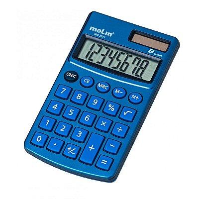 Calculadora de Bolso MC 2011 - 8 Dígitos - Molin