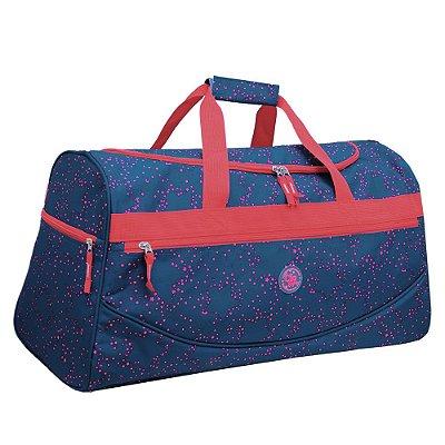 Sacola de Viagem Star 24'' Vermelha/Azul - Clio