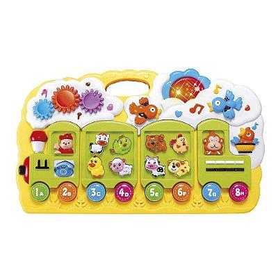 Trenzinho Educativo - DM toys