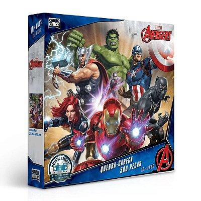 Quebra-Cabeça Edição Especial Avengers - 500 Peças - Toyster