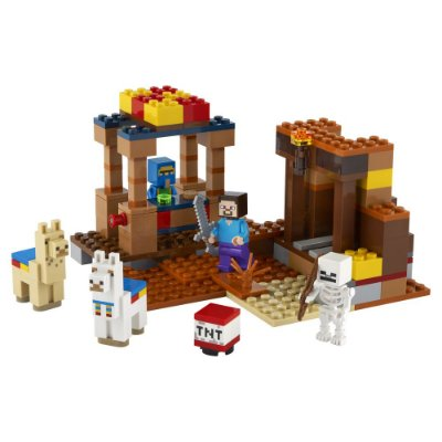 Lego Minecraft - The Trading Post - 201 Peças - Lego