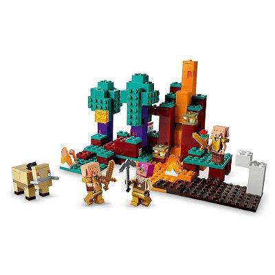 Lego Minecraft - Floresta Deformada - 287 Peças - Lego