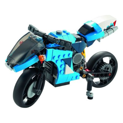 Lego Creator 3 em 1 - Supermoto - 236 Peças - Lego