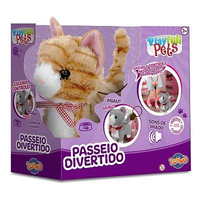 Play Full Pets Passeio Divertido - Gatinho - Toyng
