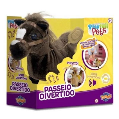 Play Full Pets Passeio Divertido - Cavalinho - Toyng