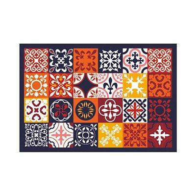 Tapete de Cozinha 45cm x 65cm - Colors Tile - Kacyumara
