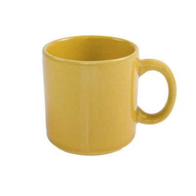 Caneca em Porcelana 360ml - Amarelo - Biona
